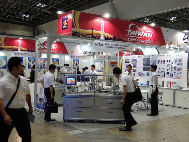 AirTAC日本はIFPEX2014(フルードパワー国際見本市)に出展
