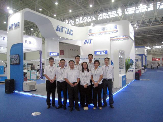 AirTAC中国は「第十五回中国国際機電製品博覧会」(中国?武漢市)に出展